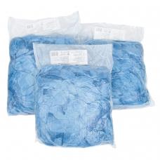 Бахилы 100 штук 50 пар в упаковке, СТАНДАРТ, размер 39х14см, 20 мкм, 3 г, ПНД, ЛАЙМА