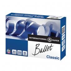 Бумага офисная А4, класс B, BALLET CLASSIC, 80 г/м2, 500 л., ColorLok, International Paper, белизна 153% CIE