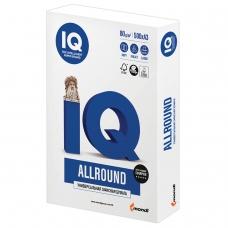 Бумага офисная А3, класс В, IQ ALLROUND, 80 г/м2, 500 л., Сыктывкар, белизна 162% CIE