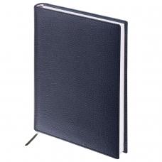 Ежедневник BRAUBERG недатированный, А5, 138х213 мм, Favorite, под классическую кожу, 160 л., черный, 123397