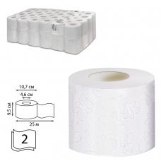 Бумага туалетная 25 м, VEIRO Professional Система T4, комплект 48 шт., Comfort, 2-слойная, T207