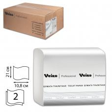 Бумага туалетная VEIRO Система T3, комплект 30 шт., Comfort, листовая, 250 л, 21х10,8 см, 2-слойная, TV201