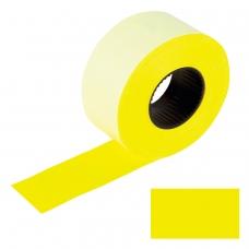 Этикет-лента 26х16 мм, прямоугольная, желтая, комплект 5 рулонов по 800 шт., BRAUBERG, 128458