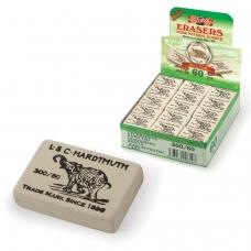 Резинка стирательная KOH-I-NOOR Слон, прямоугольная, 31х21х8 мм, белая, картонный дисплей, 0300060024KDRU