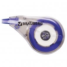 Корректирующая лента BRAUBERG, 4 мм х 8 м, в упаковке с европодвесом, 220640