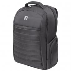 Рюкзак для школы и офиса BRAUBERG Patrol, 20 л, размер 47х30х13 см, ткань, черный, 224444