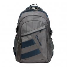 Рюкзак BRAUBERG MainStream 2, 35 л, размер 45х32х19 см, ткань, серо-синий, 224446