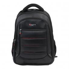 Рюкзак BRAUBERG Flagman, 35 л, размер 46х35х25 см, 35 л, ткань, черно-красный, 224454