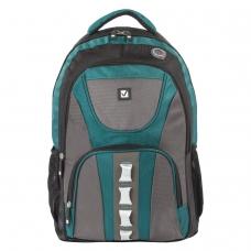 Рюкзак BRAUBERG для старшеклассников/студентов/молодежи, Арктика, 30 литров, 46х34х15 см, 224735