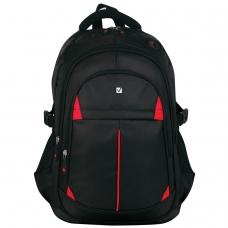 Рюкзак BRAUBERG для старшеклассников/студентов/молодежи, Кардинал, 35 литров, 45х28х18 см, 226376