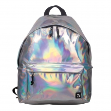 Рюкзак BRAUBERG универсальный, сити-формат, цвет-серебро, Винтаж, 20 литров, 41х32х14 см, 226421
