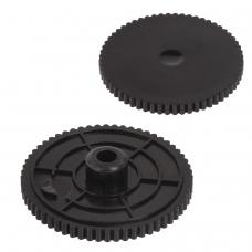 Сменные диски для мощного дырокола BRAUBERG Riff, на 100 листов, комплект 2 шт., 226875