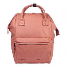 Рюкзак BRAUBERG молодежный, Корал, искуственная кожа, 34х23х15 см, 227078