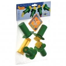 Шприцы для моделирования JOVI Испания, набор 4 шт., для растительного пластилина теста, 424
