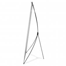 Стенд мобильный для баннера X-banner А, размер рекламного поля 600х1600 мм, углепластик, 290516