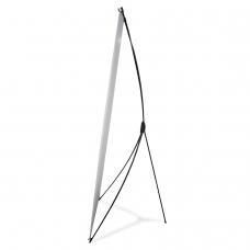 Стенд мобильный для баннера X-banner А1, размер рекламного поля 700х1800 мм, углепластик, 290517