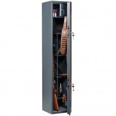 Сейф оружейный AIKO Беркут 150, 1480х300х300 мм, 34 кг, на 4 ствола, 2 ключевых замка