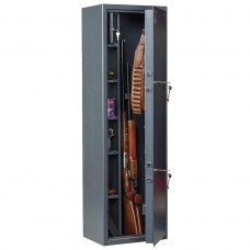 Сейф оружейный AIKO Филин 33, 1400х430х300 мм, 71 кг, на 3 ствола, 2 ключевых замка