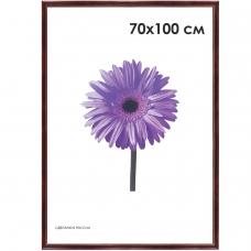 Рамка премиум 70х100 см, дерево, багет 26 мм, Linda, махагон, 0065-70-0019