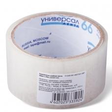 Клейкая лента упаковочная 48 мм х 30 м, прозрачная, потребительская, UNIVERSAL