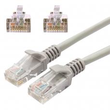 Кабель патч-корд UTP 5e категория, RJ-45, 20 м, CABLEXPERT, для подключения по локальной сети LAN, PP12-20M