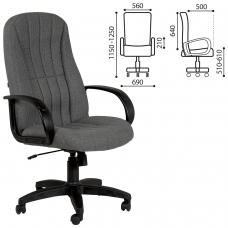 Кресло офисное Классик, СН 685, серое, 1114854