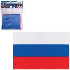 Флаг РФ, 90х135 см, карман под древко, упаковка европодвес, 550021