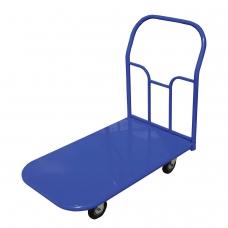 Тележка грузовая платформенная 4-х колесная ТП5 грузоподъемность - 450 кг, колеса на литой резине D=160 мм