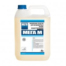 Средство для мытья посуды в посудомоечных машинах 5 л, МЕГА М, низкопенное, концентрат, А 150