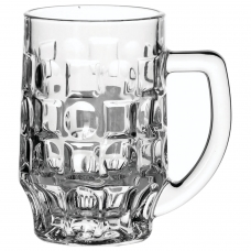 Набор кружек для пива, 2 шт., объем 500 мл, фактурное стекло, Pub, PASABAHCE, 55289