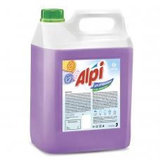 Средство для стирки жидкое 5 кг GRASS ALPI, для цветных тканей, нейтральное, концентрат, гель, 125186