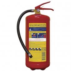 Огнетушитель порошковый ОП-8, АВСЕ твердые, жидкие, газообразные вещества, электро установки, МИГ, 111-12