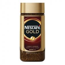 Кофе молотый в растворимом NESCAFE Нескафе Gold, сублимированный, 190 г, стеклянная банка, 12135508