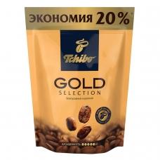 Кофе растворимый TCHIBO Gold selection, сублимированный, 150 г, мягкая упаковка