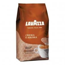 Кофе в зернах LAVAZZA Лавацца Crema e Aroma, натуральный, 1000 г, вакуумная упаковка, 2444