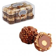 Конфеты FERRERO Rocher, шоколадные, 200 г, пластиковая упаковка, 77070887