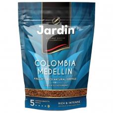 Кофе растворимый JARDIN Colombia medellin, сублимированный, 150 г, мягкая упаковка