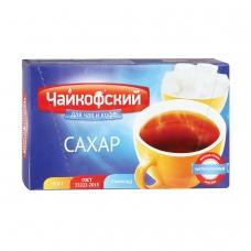 Сахар-рафинад Чайкофский, 1 кг 196 кусочков, 15х16х21 мм, высший сорт по ГОСТу, картонная упаковка