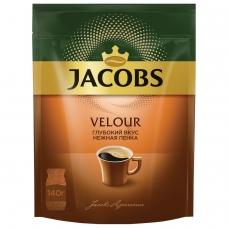 Кофе растворимый JACOBS Velour, 140 г, мягкая упаковка, 58874