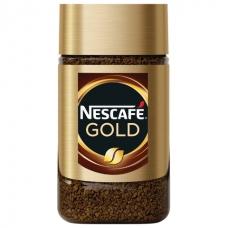 Кофе молотый в растворимом NESCAFE Нескафе Gold, сублимированный, 47,5 г, стеклянная банка, 12135509