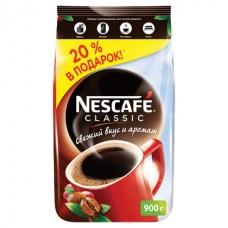 Кофе растворимый NESCAFE Нескафе Classic, гранулированный, 900 г, мягкая упаковка, 11623339