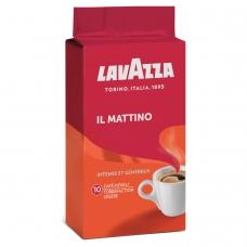 Кофе молотый LAVAZZA Лавацца Mattino, натуральный, 250 г, вакуумная упаковка, 3201