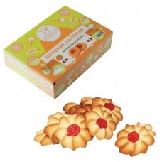 Печенье БИСКОТТИ Курабье, сдобное, 675 г, картонная коробка