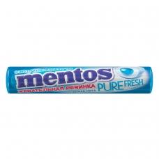 Жевательная резинка MENTOS Pure Fresh Ментос Ролл Свежая Мята, 15,5 г, 87545